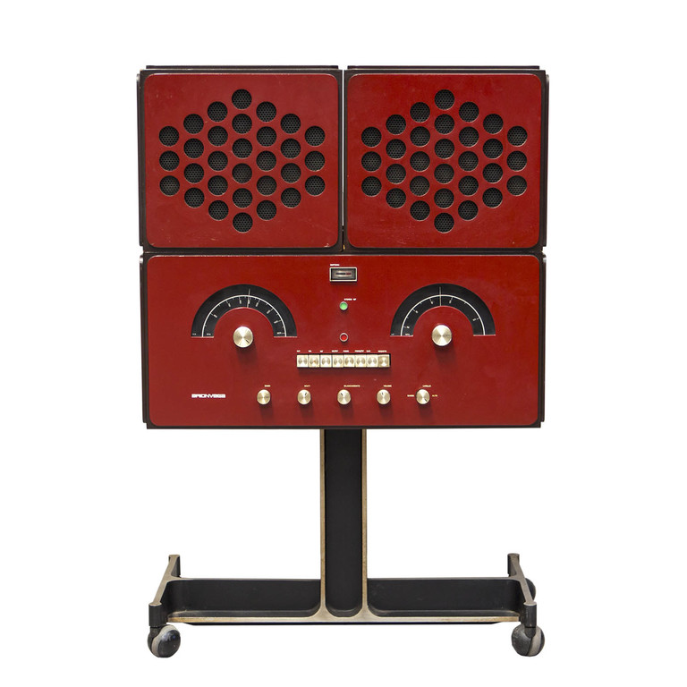 Antichitalia antiquariato design product brionvega rr126 castiglioni rossa red radiofonografo.jpg