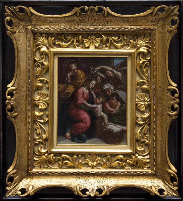 Dipinto su rame del XVI secolo
